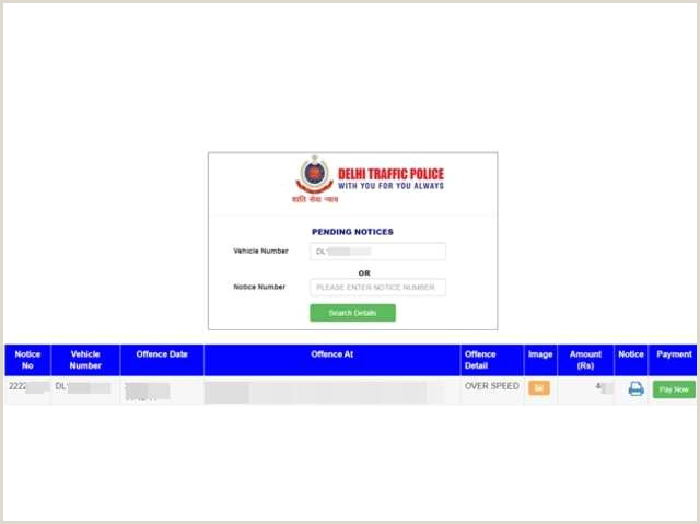 Biz Cards Online E Challan Line Payment How To Check And Pay Your E