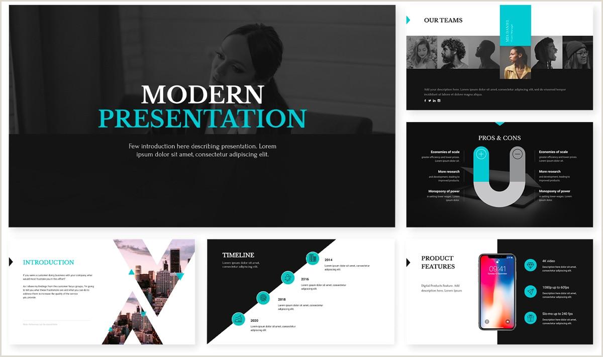 Biz Cards Online Social Media Report Presentation Template