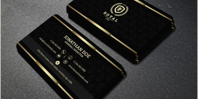 Black and Gold Business Card Template 30 Incredible Black and Gold Business Card Templates