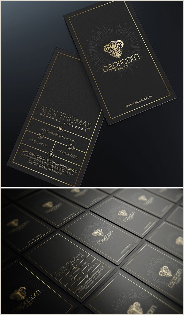 Black And Gold Business Card Template Black And Gold Business Card Templates Design