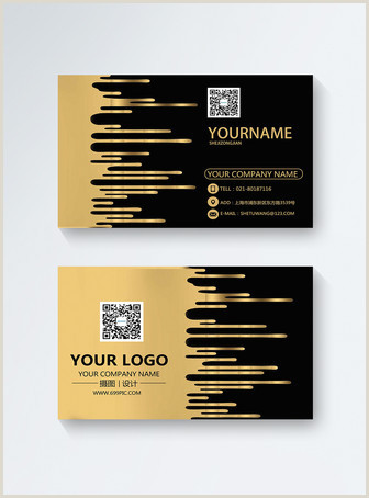 Black And Gold Business Card Template Black Gold Business Card Template Image Picture Free