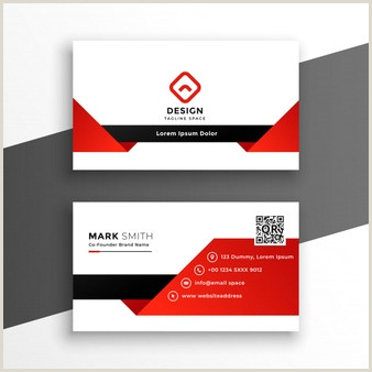 Black And Gold Business Card Template Free Vector