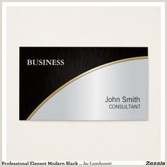 Black And Silver Business Cards 30 Black And Silver Business Cards Ideas