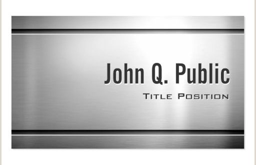 Black and Silver Business Cards Silver Metallic Business Card Templates