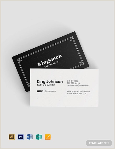 Black And White Business Card 23 Black And White Business Card Templates Word Pages