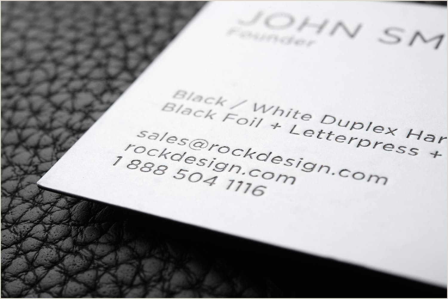 Black And White Business Card Design Free Bold And Creative Black And White Business Card