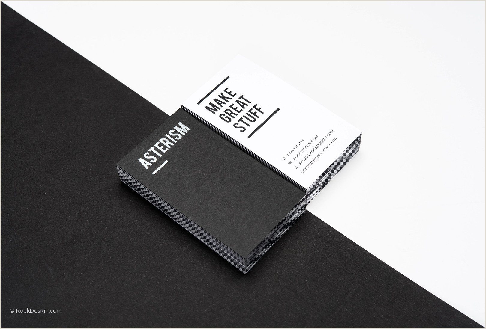 Black And White Business Card Free Black And White Business Card Templates