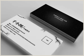 Black And White Business Cards Black And White Business Card Templates