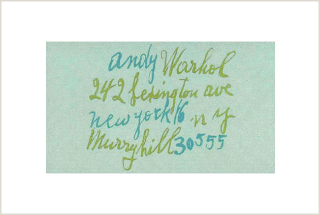 Black Business Card With Gold Lettering Creative Graphic Design Andy Warhol And Business Image
