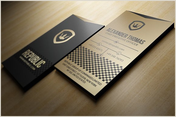 Black Business Card With Gold Lettering Gold And Black Business Card