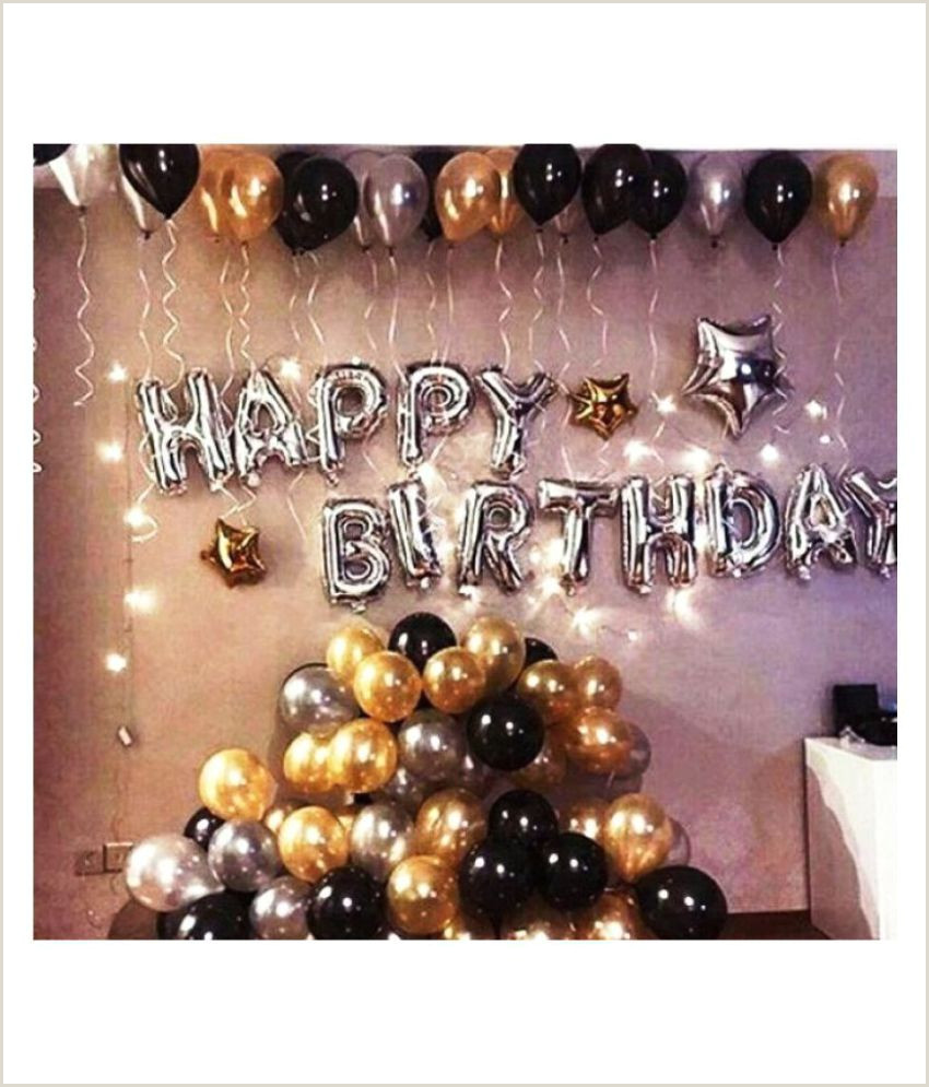 Black Business Card With Gold Lettering Happy Birthday Letter Foil Balloon Set Of Silver Hd Metallic Balloons Black Gold And Silver Pack Of 30