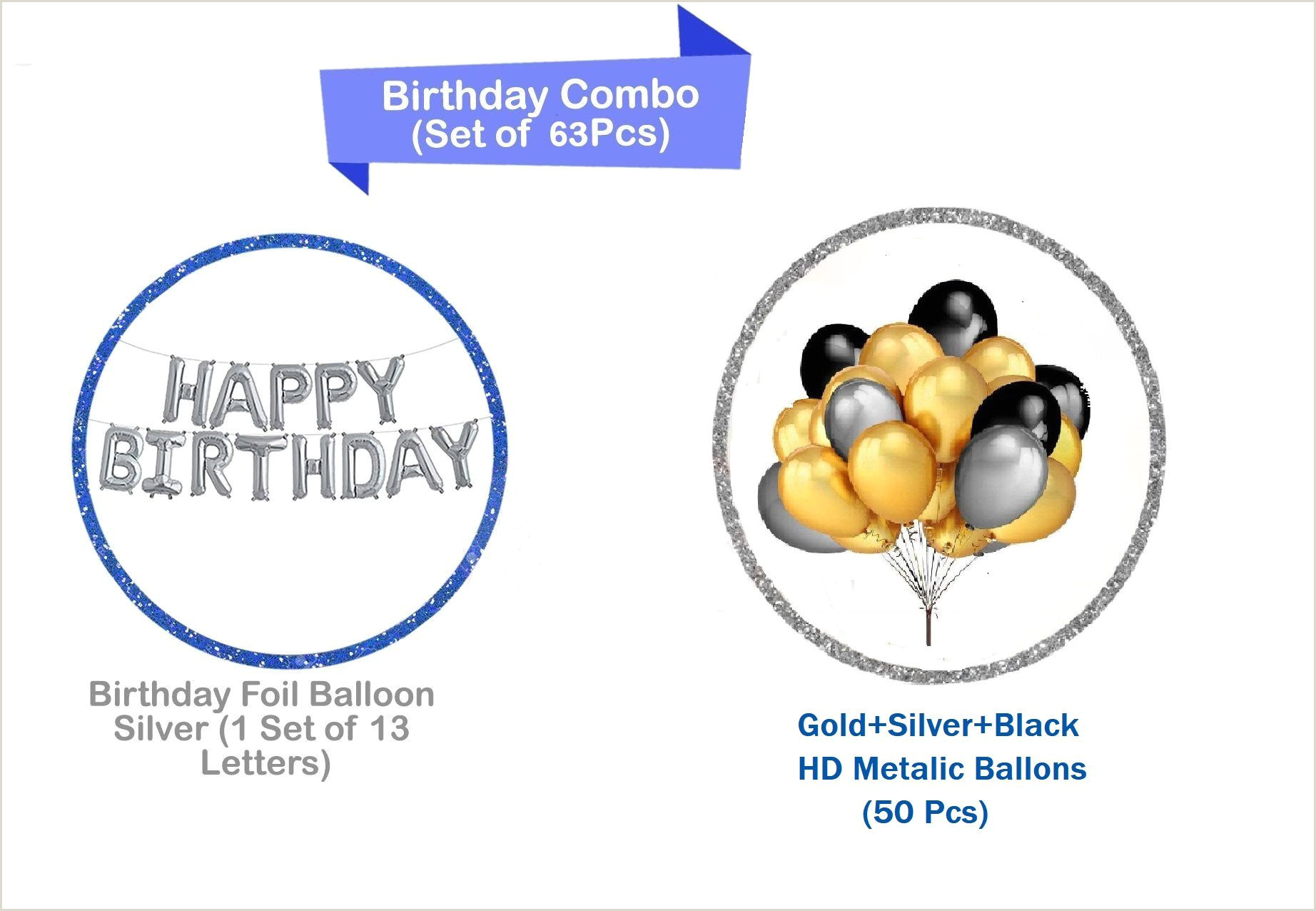 Black Business Card With Gold Lettering Happy Birthday Letter Foil Balloon Set Of Silver Pack Of 50 Hd Metallic Balloons Gold Black And Silver