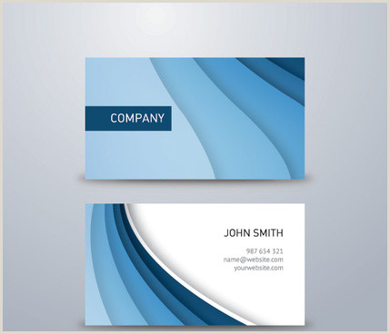 Blue Business Card Background Blue Business Card Background Free Vector 71 370