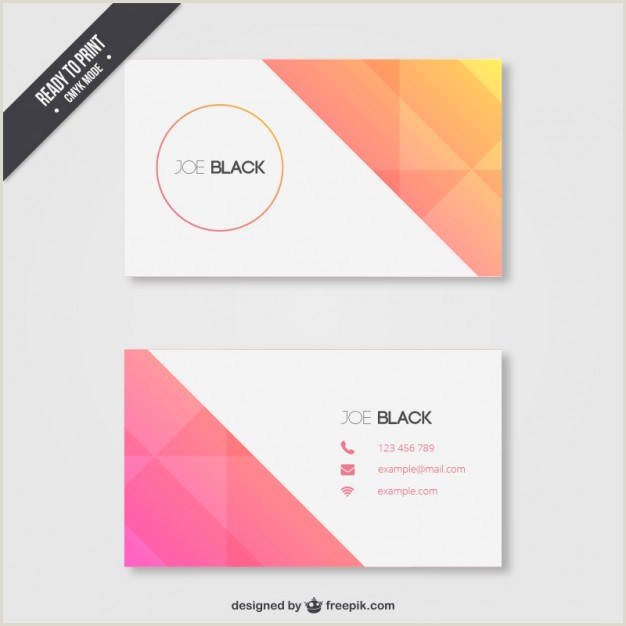 Blue Business Card Background Blue Business Card Template Free Vector