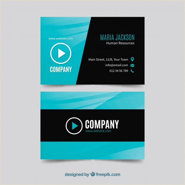 Blue Business Card Background Download Vector Black Business Card With Blue And Orange