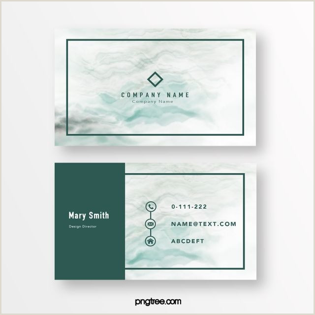 Blue Business Card Background Green Minimalist Marble Background Business Card In 2020