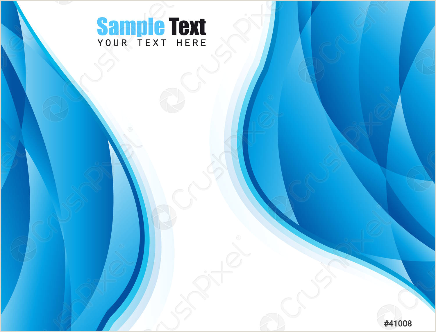 Blue Business Card Background Stock Vector Blue Business Card Background