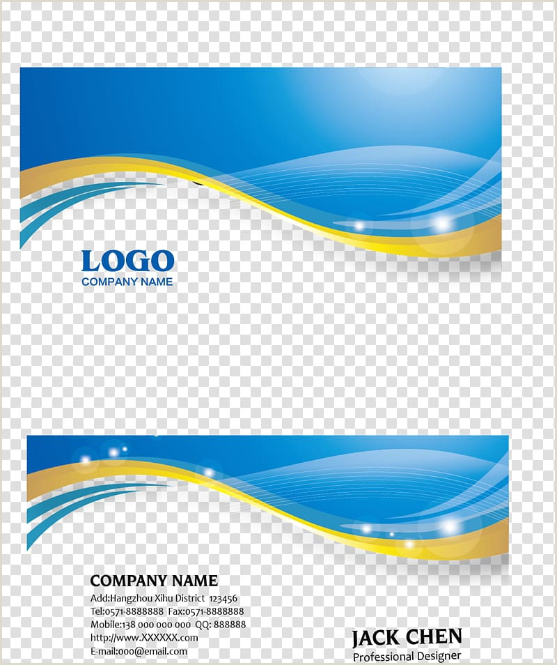 Blue Business Card Background Vector Blue Business Card Background Free Premium Vector