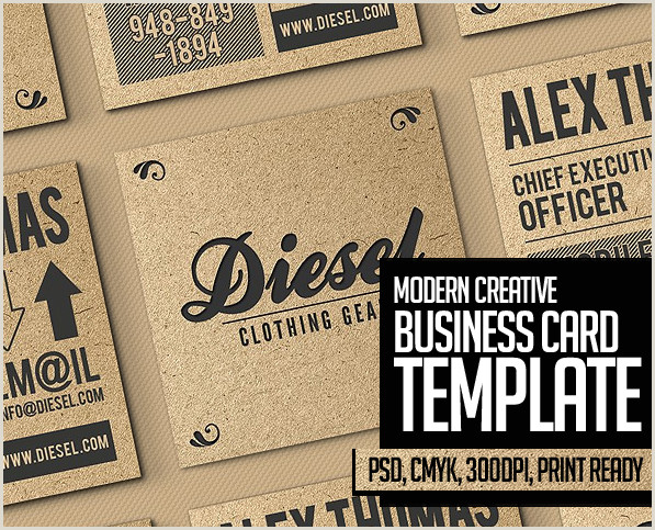 Buisiness Card Templates 25 New Modern Business Card Templates Print Ready Design