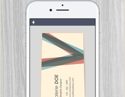 Buisnes Cards Best iPhone Business Card Scanners