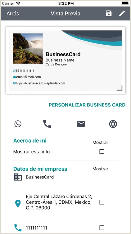 Buisness Caeds Businesscard By Maplander