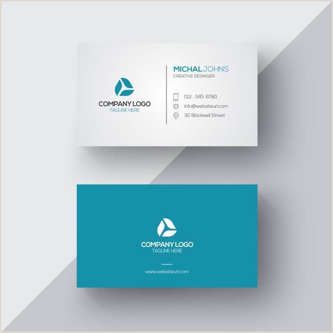 Buisness Card Design Business Card Design In 2020