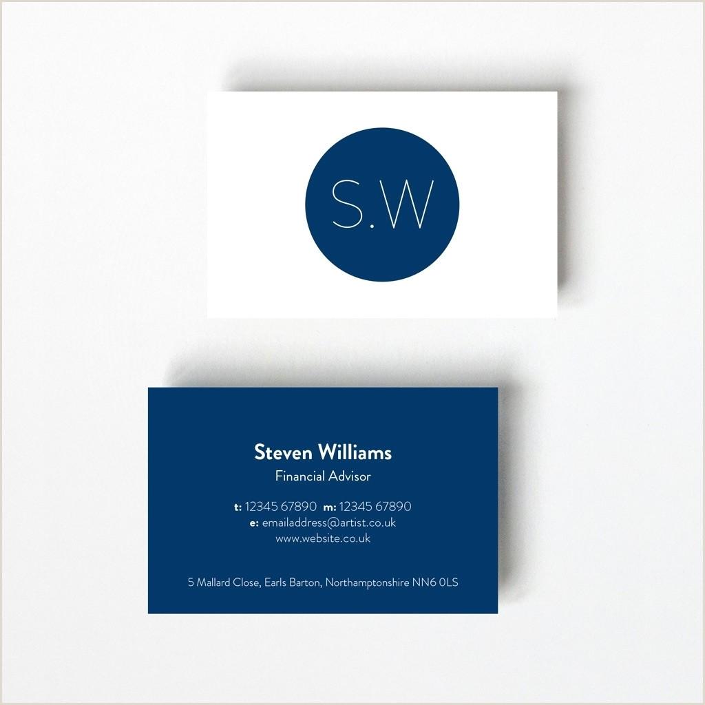 Buisness Card Design Monogram Design Business Card