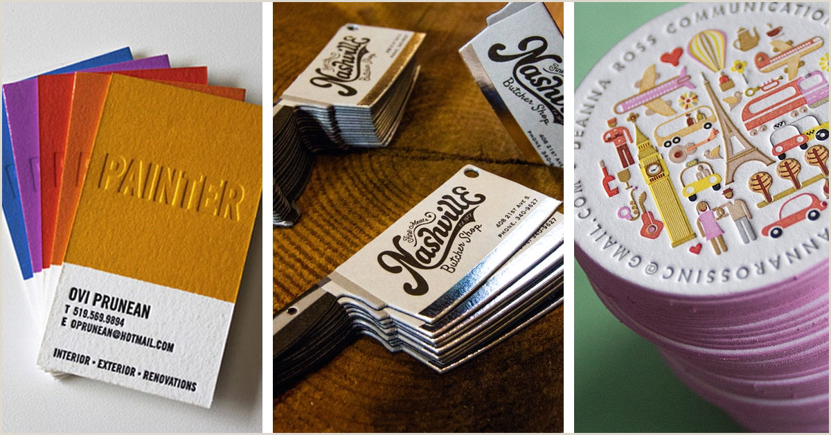 Buisness Card Ideas 40 Cool Business Card Ideas That Will Get You Noticed