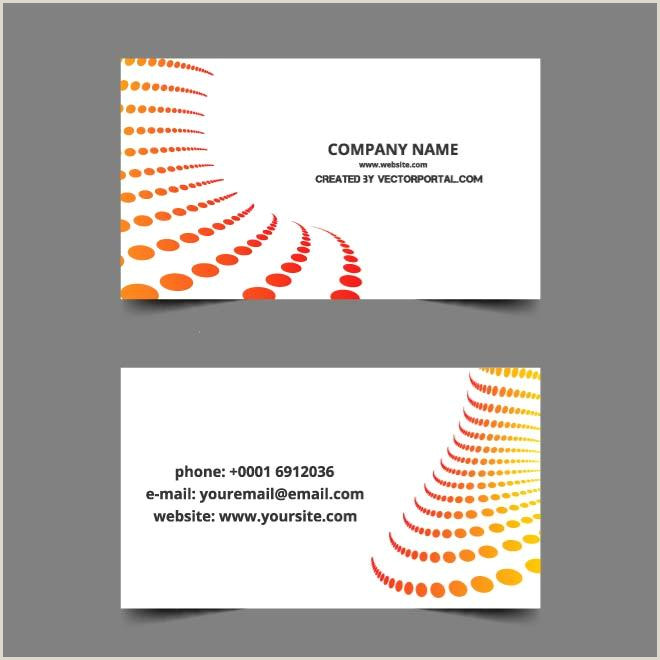 Buisness Card Layout Download Vector Simple Business Card Layout Vectorpicker