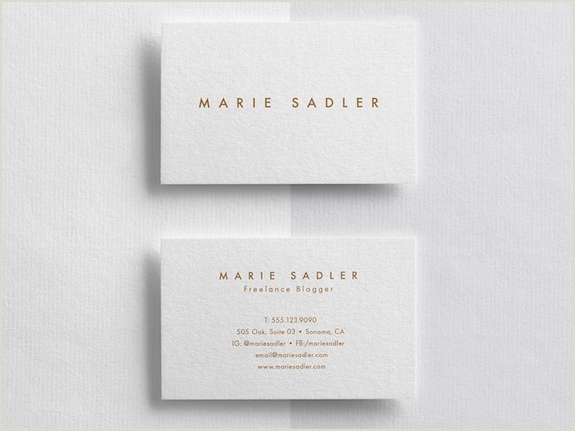 Buisness Card Samples 110 Minimalist Business Cards Mockups Ideas And Templates