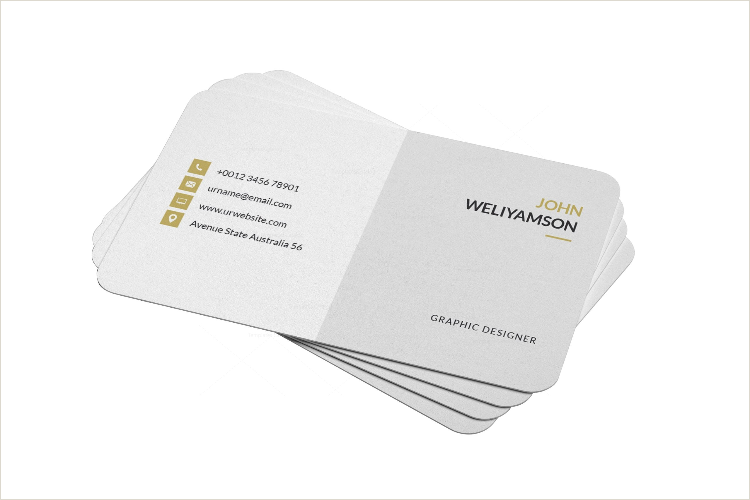 Buisness Card Samples Psd Clean Business Design Card