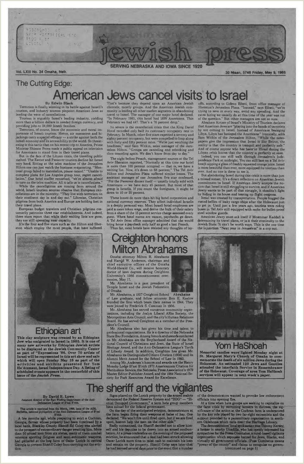 Buisness Cards Ideas May 9 1986 By Jewish Press Issuu