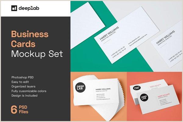 Busines Card Design Business Card Mockup 85×55 Free