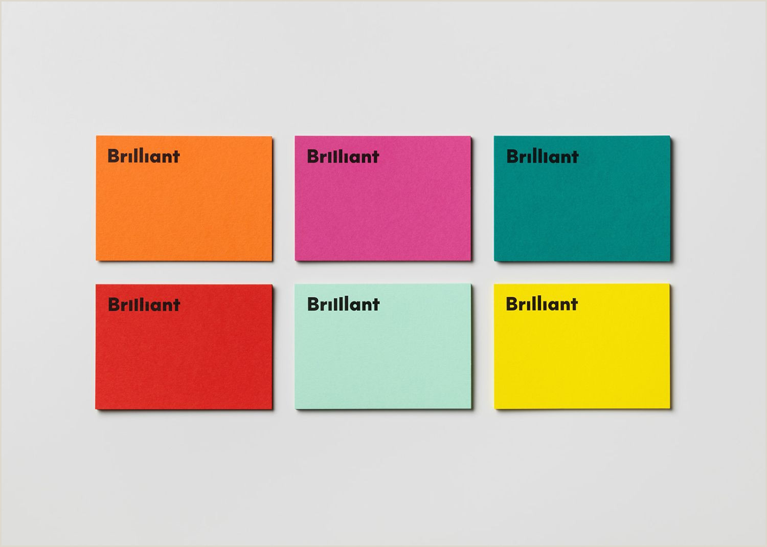 Busines Card Design New Graphic Identity For Brilliant By The Studio — Bp&o