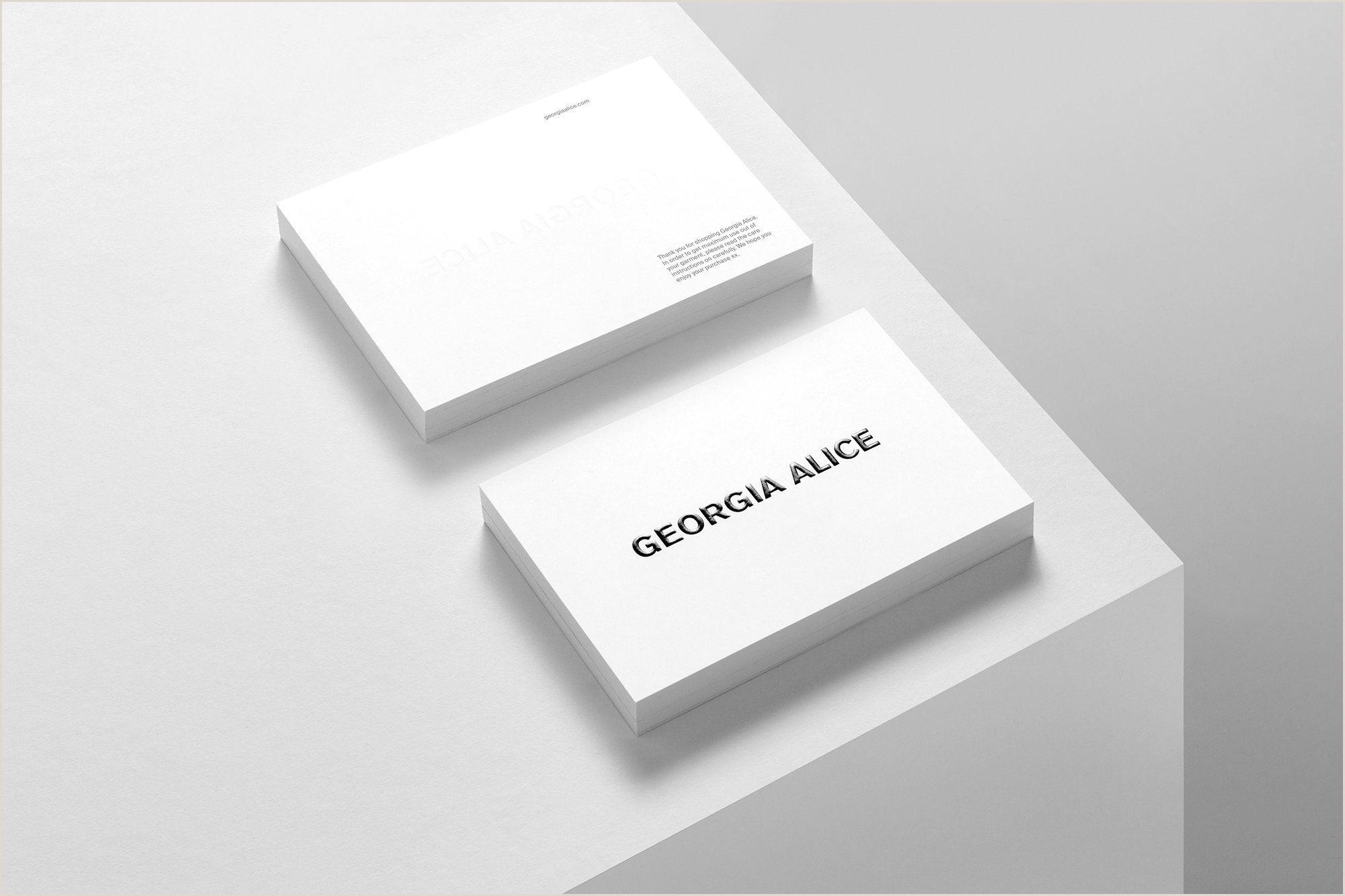 Busines Card Design South Georgia Alice