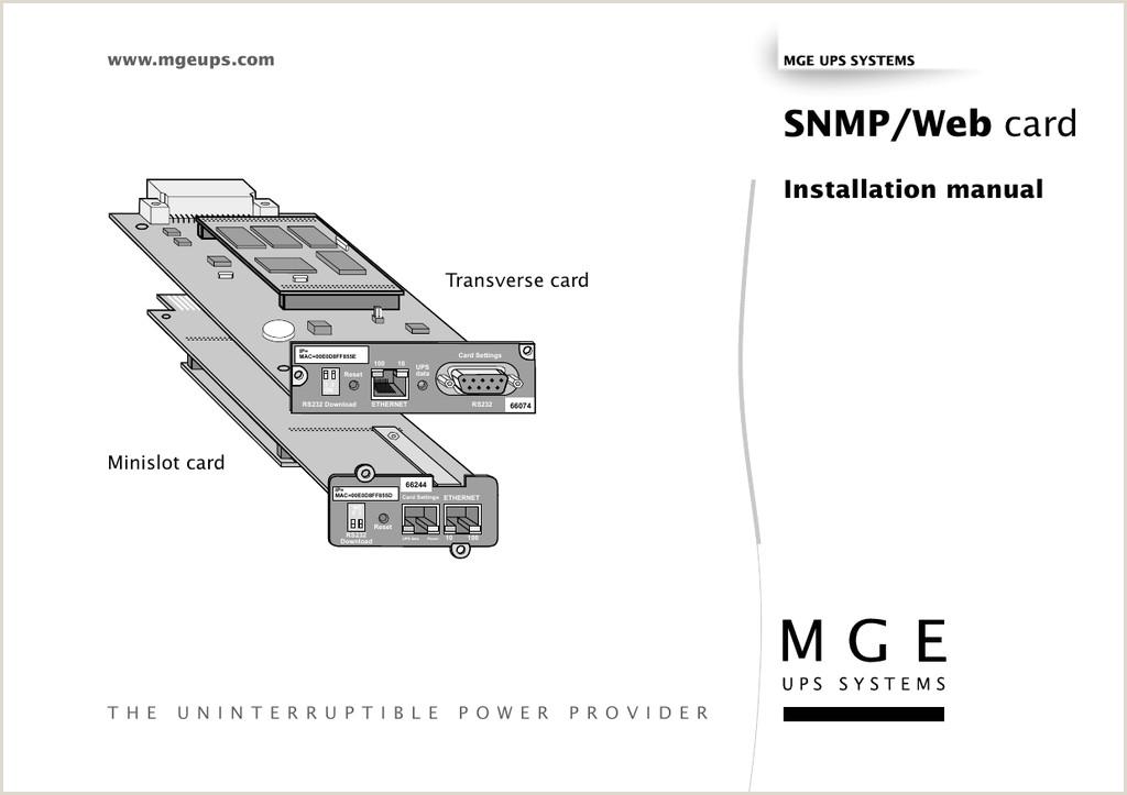 Business Acrds Snmp Web Card
