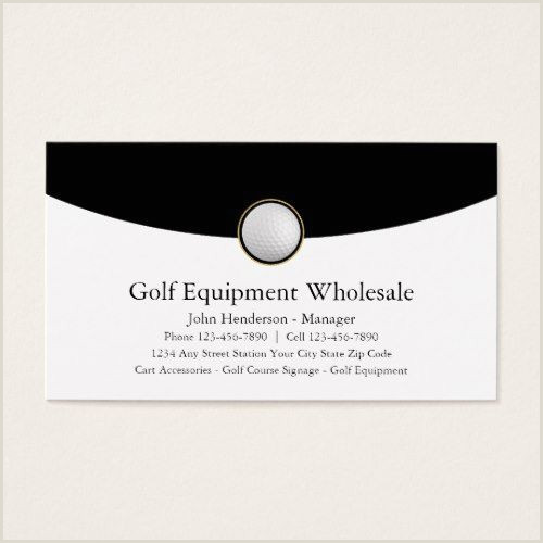 Business Card Advice Golf Equipment Wholesale Business Cards Zazzle