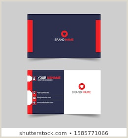 Business Card Back Front Back Business Card Stock S & Vectors