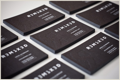 Business Card Black And White 100 Refreshing Black & White Business Cards Inspirationfeed