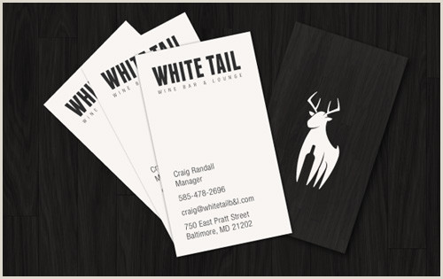 Business Card Black And White Black And White Business Cards Design 50 Inspiring Examples