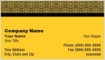 Business Card Border Template Basic Bordered Business Cards