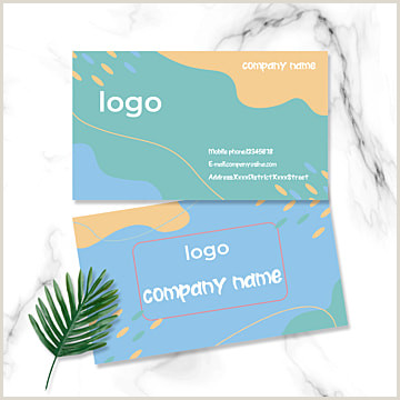 Business Card Color Business Card Design 0 1 0 4 Png
