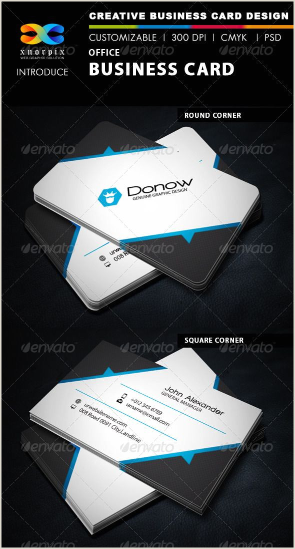 Business Card Color Fice Business Card