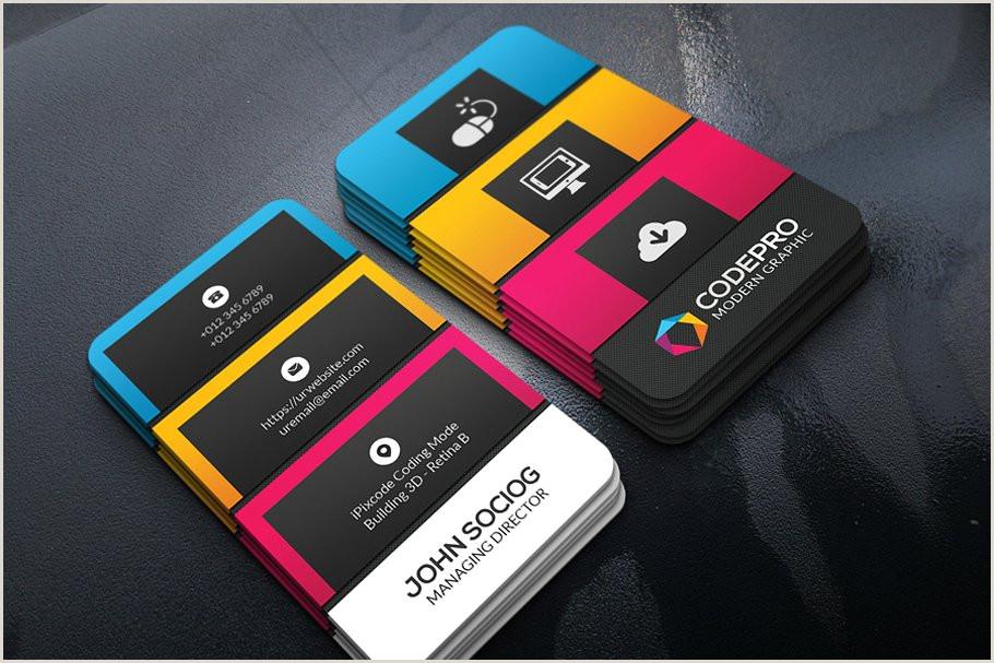 Business Card Color Palette Color Business Card