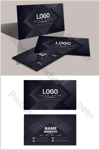 Business Card Color Palette Colorful Corporate Business Card In Deep Color
