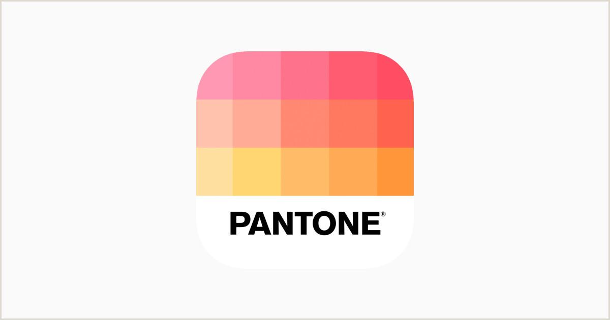 Business Card Color Palette Pantone Studio On The App Store