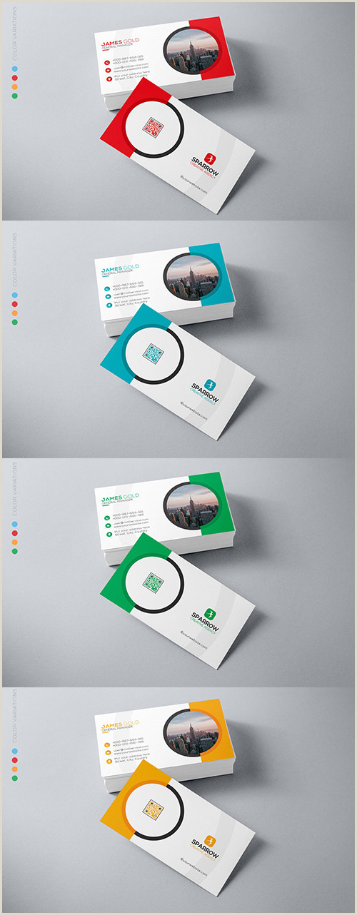 Business Card Color Sirius Abstract Colors Business Card Design Avaxgfx All