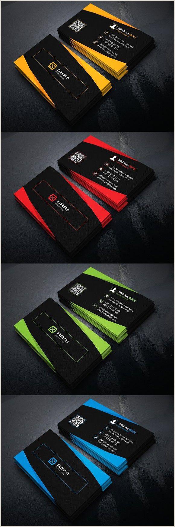 Business Card Design Pinterest Corporate Business Card Template
