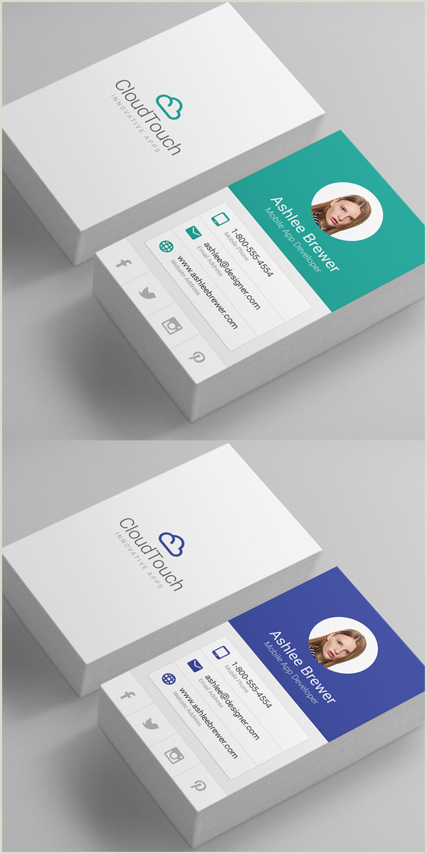 Business Card Design With Photo 80 Best Of 2017 Business Card Designs Design