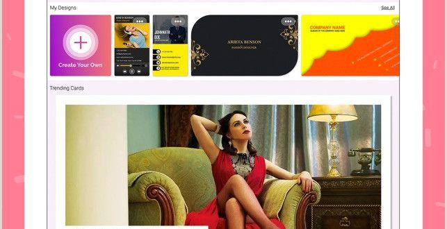 Business Card Designer Online Free Business Card Maker Creator On the App Store